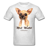 Most Wanted Chihuahua - Unisex - light heather grey