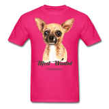 Most Wanted Chihuahua - Unisex - fuchsia