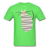 Happy Cat with Stripes - Unisex - kiwi