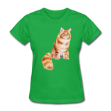 Maine Coon - Women's - bright green
