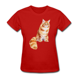 Maine Coon - Women's - red