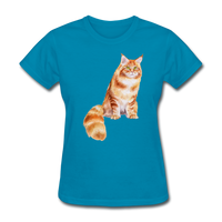 Maine Coon - Women's - turquoise