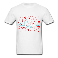 Love and Hearts - Unisex2 - white