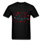 Love and Hearts - Unisex2 - black