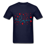 Love and Hearts - Unisex2 - navy