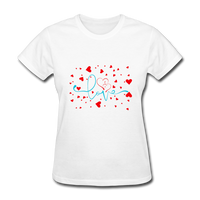 Love with Hearts - Women's - white