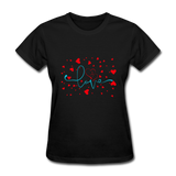 Love with Hearts - Women's - black