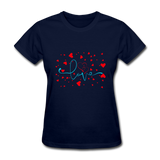 Love with Hearts - Women's - navy