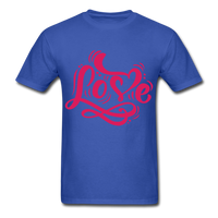 Pink Love - Unisex - royal blue