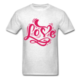 Pink Love - Unisex - light heather grey