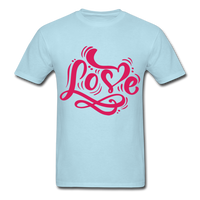 Pink Love - Unisex - powder blue