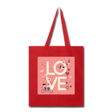 Love in the Air - Tote2 - red