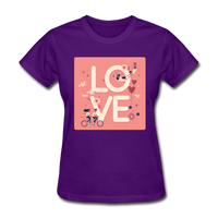 Love in the Air - Women's - purple