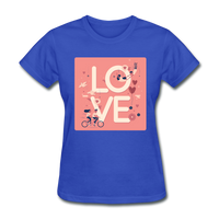 Love in the Air - Women's - royal blue