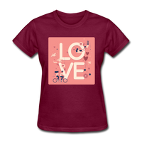 Love in the Air - Women's - burgundy