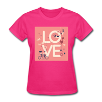 Love in the Air - Women's - fuchsia