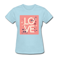 Love in the Air - Women's - powder blue