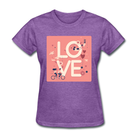 Love in the Air - Women's - purple heather