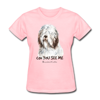 Bearded Collie - Women's - pink