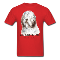 Bearded Collie - Unisex - red