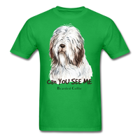Bearded Collie - Unisex - bright green
