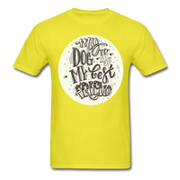 My Dog Best Friend - Unisex - yellow