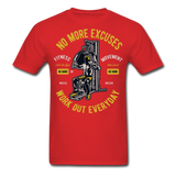 No More Excuses - Unisex - red