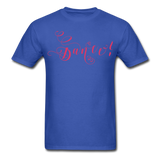 Dance! Fuschia Swirl - Unisex9 - royal blue