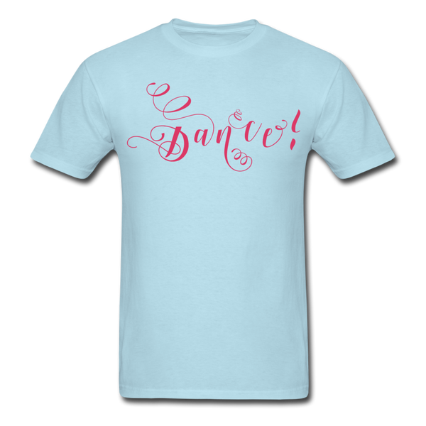 Dance! Fuschia Swirl - Unisex9 - powder blue