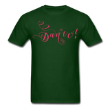 Dance! Fuschia Swirl - Unisex9 - forest green