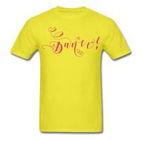 Dance! Fuschia Swirl - Unisex9 - yellow