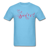 Dance! Fuschia Swirl - Unisex9 - aquatic blue