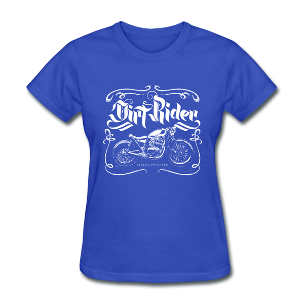 Dirt Rider - Women's - royal blue