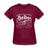 Dirt Rider - Women's - burgundy