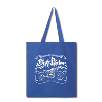 Dirt Rider - Tote - royal blue