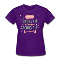 If You Can Believe It - Women's - purple