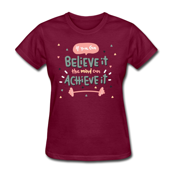 If You Can Believe It - Women's - burgundy