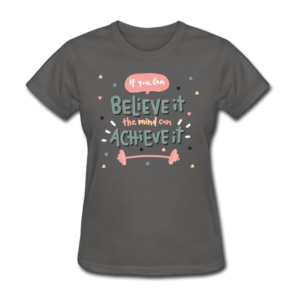 If You Can Believe It - Women's - charcoal