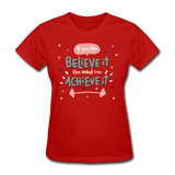If You Can Believe It - Women's - red