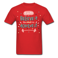 If You Can Believe It - Unisex - red