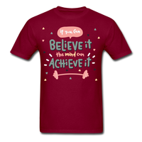 If You Can Believe It - Unisex - burgundy