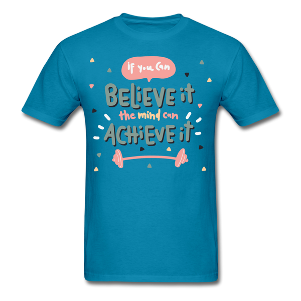 If You Can Believe It - Unisex - turquoise