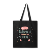 If YOu Can Believe It - Tote3 - black