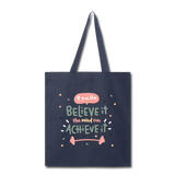 If YOu Can Believe It - Tote3 - navy