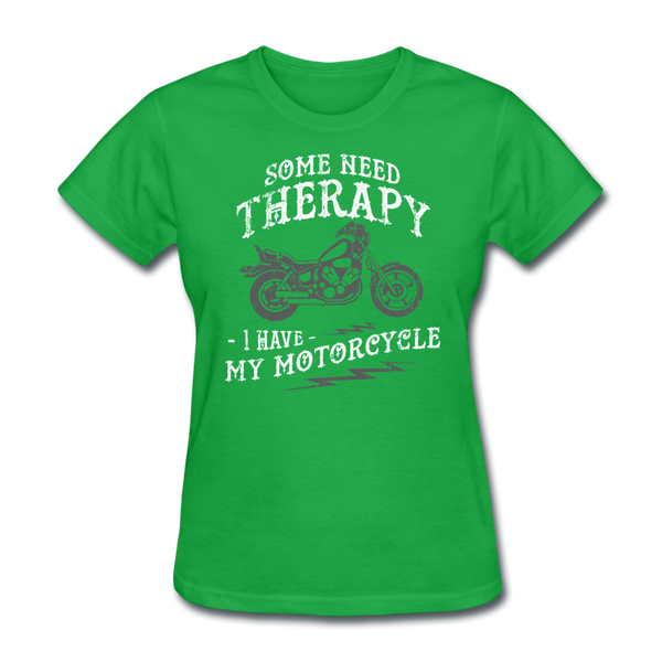 Have My Motorcycle - Women's - bright green