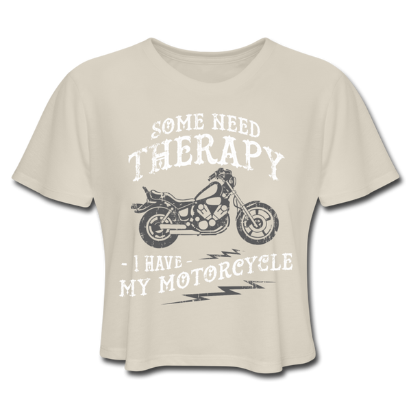 Have My Motorcycle - Cropped Women's - dust