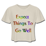 Expect Things - Cropped Women's - dust