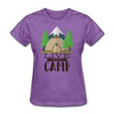 Live Laugh Camp - Women's - purple heather