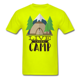 Live Laugh Camp - Unisex - safety green