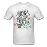 Dogs Lives Complete - Unisex - light heather gray